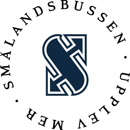 Smålandsbussen logotyp rund