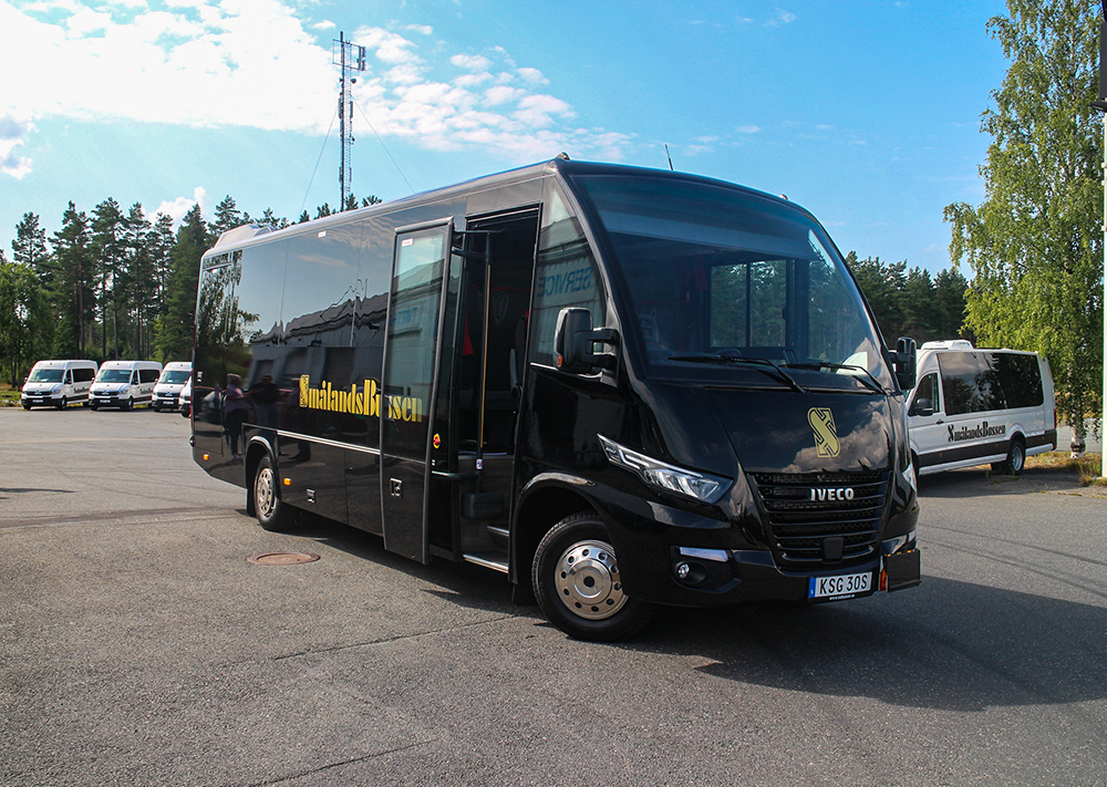 Konferensbus Smålandsbussen