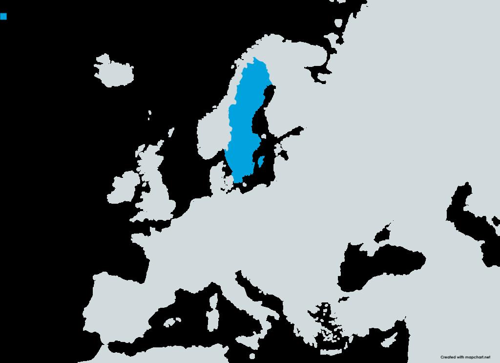 Österlen karta